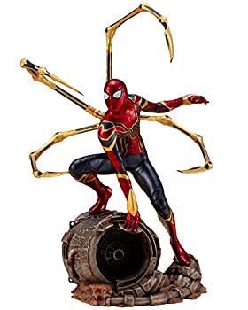 中古 ARTFX+ Avengers: セール特別価格 新作からSALEアイテム等お得な商品満載 Infinity War アイアン スパイダー 10スケール PVC製 塗装済み簡易組立フィギュア 1 WAR- -INFINITY
