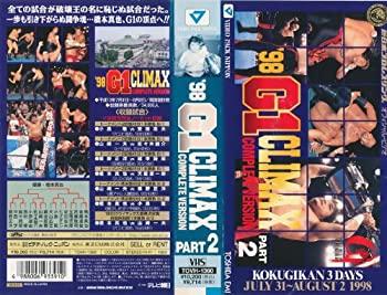 【中古】'98 G1 CLIMAX[COMPLETE VERSION]PART.2 [VHS]
