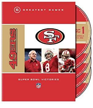 【初回限定お試し価格】 NFL 49ers 5 Greatest Games Super Bowl Victories [DVD] [Import], Reggie Shop 6a39d5cd
