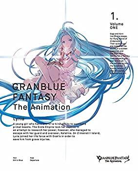 中古 公式 Amazon.co.jp限定 GRANBLUE FANTASY The 期間限定今なら送料無料 Animation 1 オリジナル特典: B2告知ポスター メーカー特典: オリジナルゲー シリアルコード 付