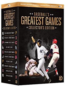【新作入荷!!】 Baseball&39;s Greatest Games [DVD] [Import], La暮らし 60f36078