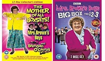 【当店一番人気】 Mrs Brown&39;s Boys / Brendan O&39;Carroll Complete BBC Series 123 & The 3 Christmas Specials (7 Disc Set) Plus Mrs Brown&39;s Boys Original 8 D, 快音生活 ae335429
