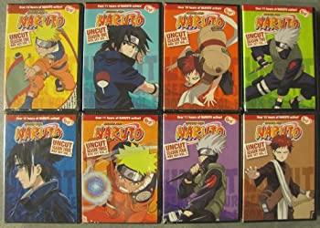 【気質アップ】 Naruto Uncut: Complete Seasons 1-4 (8 Box-Set Pack: 220 Episodes on 48 Discs), ペットグッズショップ橋本 27b7b7f9