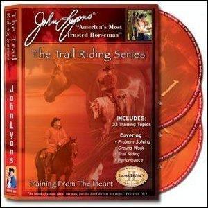 好評 John Lyons The Trail Riding Series - Training From The Heart 3 DVD Set - Groundwork Riding and Performance Topics for You and Your Hors, 野尻町 75035aa4