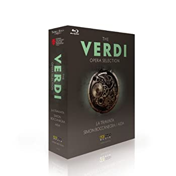 期間限定特別価格 Giuseppe Verdi - Verdi opera collection - La Traviata Simon Boccanegra Aida [Blu-ray], セブンマルイ質店 26433182