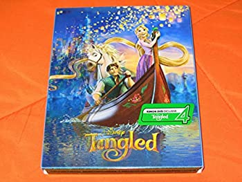【中古】Tangled [Blu-ray 3D/Blu-ray Steelbook KIMCHI Exclusive Limited Edition; Only 1300 Worldwide; Region-Free]