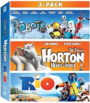 【ふるさと割】 Robots Horton Hears a Who & Rio 3-Movie Collection [Blu-ray] by 20th Century Fox, PARTS LINE 24 438cdf03