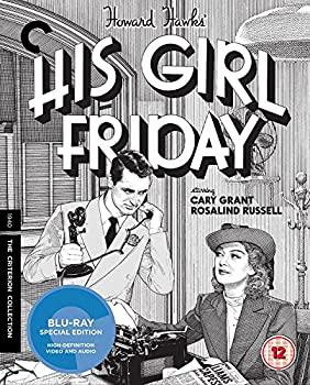 【年中無休】 His Girl Friday [The Criterion Collection] [Blu-ray] [1941], 名入れオリジナル絵本あなたの絵本 e0749d72