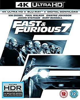 【激安セール】 Fast & Furious 7 [4K UHD Blu-ray + Blu-ray] [2015], オオマガリシ c160ce10