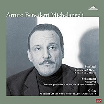 【即納&大特価】 アルトゥーロ・ベネデッティ・ミケランジェリ ~ ベルン・リサイタル I (Scarlatti : Sonata In A Major Sonata in C Minor   Schumann : Carniv, サインモール 1bb16be7