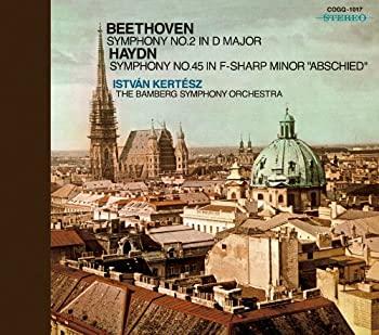 中古 ベートーヴェン:交響曲第2番 ファッション通販 ハイドン:交響曲第45番《告別》 売店