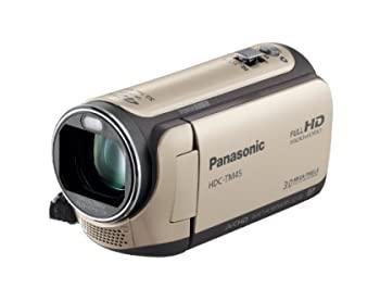 中古 パナソニック 新品 送料無料 贈呈 デジタルハイビジョンビデオカメラ TM45 内蔵メモリー32GB キャメルベージュ HDC-TM45-C