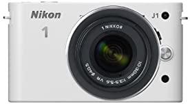 中古 Nikon お気にいる ミラーレス一眼カメラ 1 ニコンワン J1 J1HLK ジェイワン 標準ズームレンズキット 付与 ホワイトN1 WH
