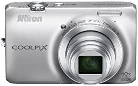 中古 数量限定 Nikon デジタルカメラ COOLPIX S6300SL S6300 クリスタルシルバー クールピクス 祝日