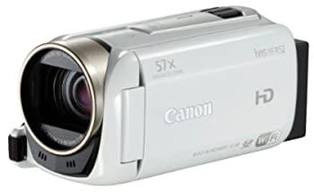 中古 Canon デジタルビデオカメラ 在庫処分 iVIS HF IVISHFR52WH 光学32倍ズーム ホワイト 卓抜 R52
