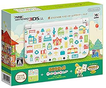 【中古】Newニンテンドー3DS LL どうぶつの森 ハッピーホームデザイナー パック【メーカー生産終了】