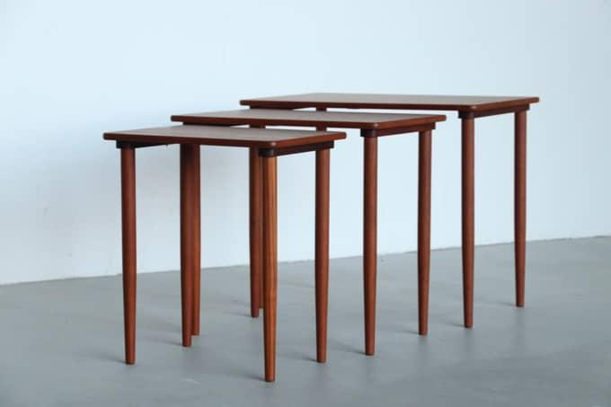 【北欧家具】【送料無料】ネストテーブル【中古】