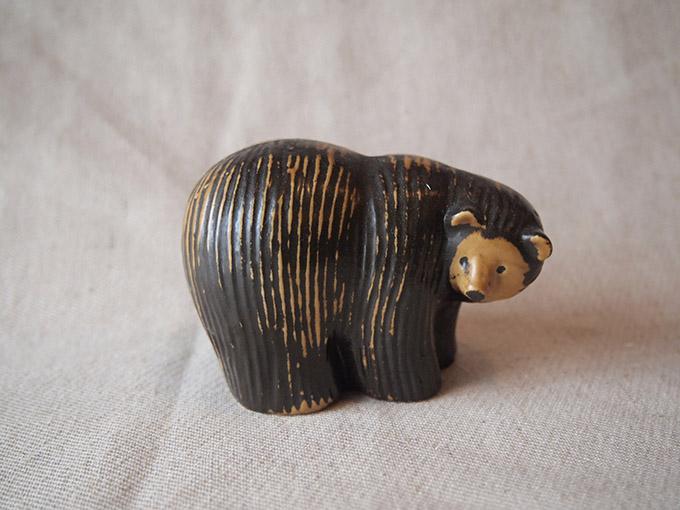 【北欧ヴィンテージ】【中古】Lisa Larson リサ・ラーソン クマS BEAR(S)