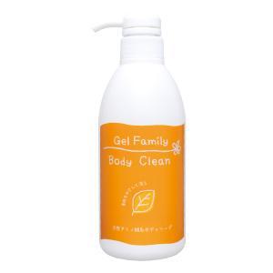 天然アミノ酸のやさしさを感じてください穏やかな洗浄力で皮脂や汚れを洗い流す 弱酸性天然アミノ酸系のボディーソープです ゲルファミリーボディクリーン お得クーポン発行中 天然アミノ酸ボディーソープ ノンシリコン ボトル500ml 高品質