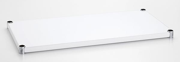 送料無料 1200mm×450mm ウッドシェルフ エンゼルホワイト 棚のみ 1枚 棚 スチール棚 北欧 シンプル おしゃれ ホワイト 白