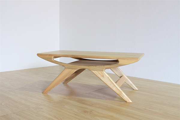 送料無料 コーヒーテーブル 幅100cm 無垢材 天然木 木製 木目 センターテーブル ローテーブル リビングテーブル 作業台 机 ナチュラル ウォールナット おしゃれ 北欧 シンプル インテリア デザイン 高級感