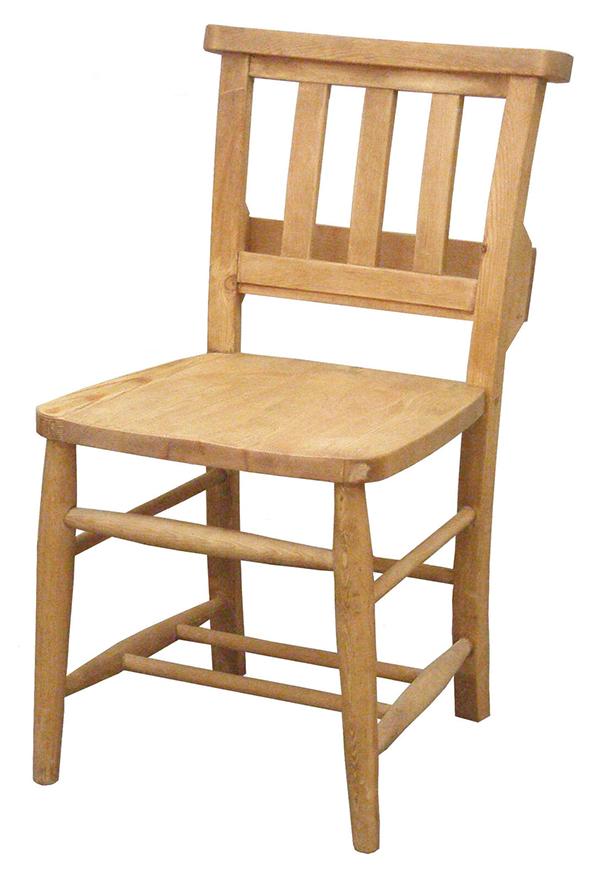 送料無料 パイン材 チャーチチェアー 2脚セット ポケット付き 木製 無垢材 ナチュラル カントリー 北欧 かわいい デザインチェア 食卓椅子 いす イス おしゃれ