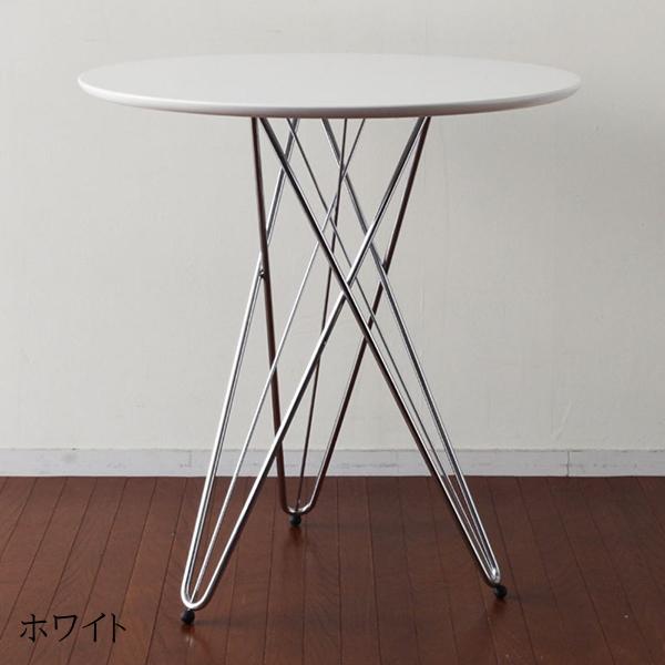 カフェテーブル ダイニングテーブル 丸形 円型 ワイヤーレッグテーブル コンパクト ワークデスク 作業台 机 コヒーテーブル リビング おしゃれ 北欧 ミッドセンチュリー モダン