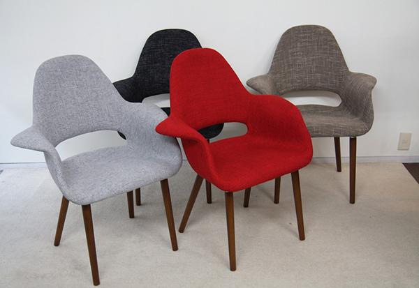 ダイニングチェア 1脚 食卓椅子 椅子 イス いす デザイナーズ イームズの原点!オーガニックチェア リプロダクト おしゃれ 北欧 モダン ミッドセンチュリー レトロ
