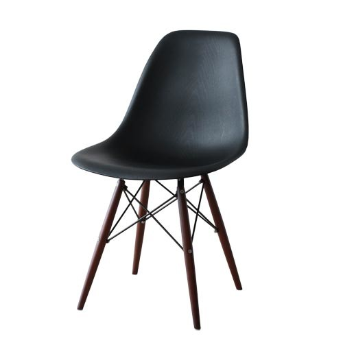 ダイニングチェア 1脚 食卓椅子 椅子 イス いす デザイナーズ イームズシェルサイドチェアDSW ウッドパターン おしゃれ 北欧 モダン ミッドセンチュリー レトロ
