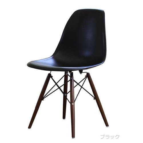 ダイニングチェア 1脚 食卓椅子 椅子 イス いす デザイナーズ イームズシェルサイドチェアDSW DBR脚 おしゃれ 北欧 モダン ミッドセンチュリー レトロ