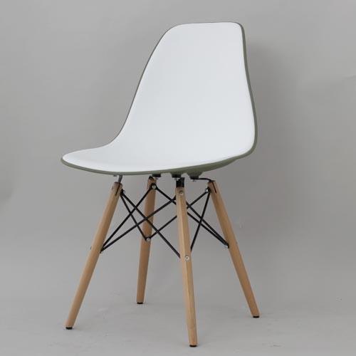 ダイニングチェア 1脚 食卓椅子 椅子 イス いす デザイナーズ イームズシェルサイドチェアDSW ダブル おしゃれ 北欧 モダン ミッドセンチュリー レトロ
