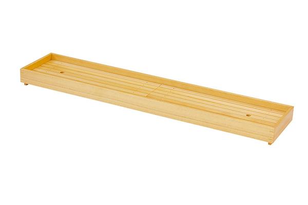 大 長角盛込 長良川 キッチン 什器備品 日本製 盛台 木製 盛付け台 料理演出 飲食店 ホテル 旅館