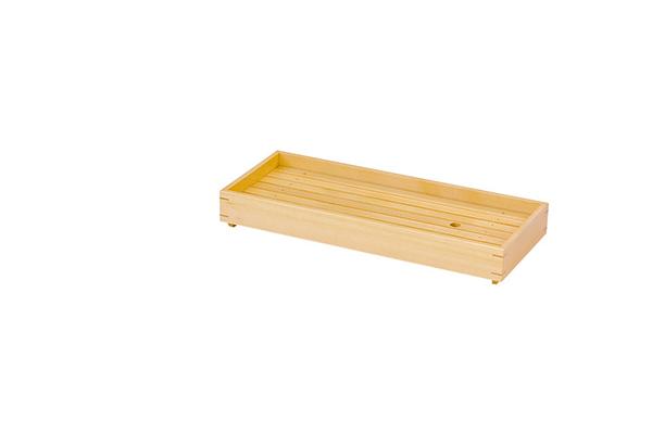 小 長角盛込 長良川 キッチン 什器備品 日本製 盛台 木製 盛付け台 料理演出 飲食店 ホテル 旅館