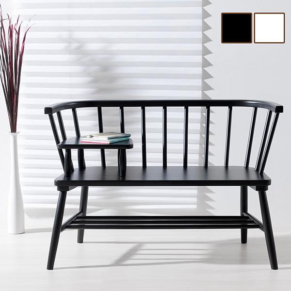 木製ベンチ 完成品 デザイン おしゃれ ベンチ 小テーブル いす 椅子 チェアー シンプル