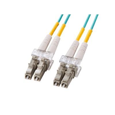 OM3光ファイバケーブル 10GBASE-SRSW規格対応 LCコネクタ×2 LCコネクタ×2 3m HKB-OM3LCLC-03L