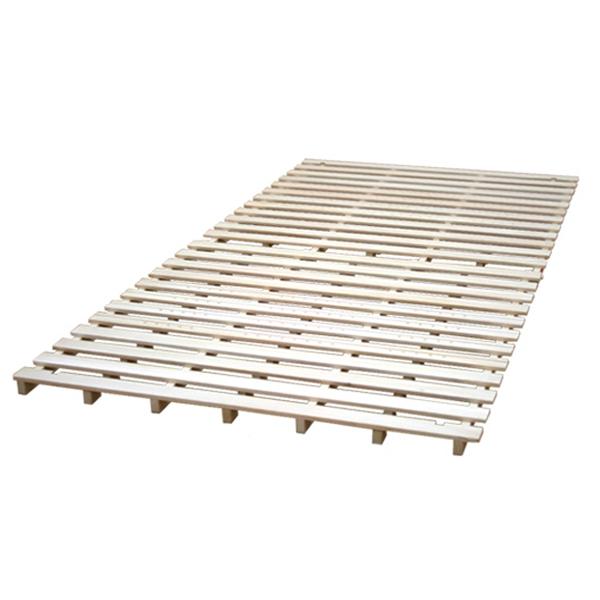 スタンド式すのこベッド セミダブル 布団が干せる 折りたたみ すのこマット 折りたたみベッド 折りたたみ式 折り畳みベット おしゃれ セミダブルベッド