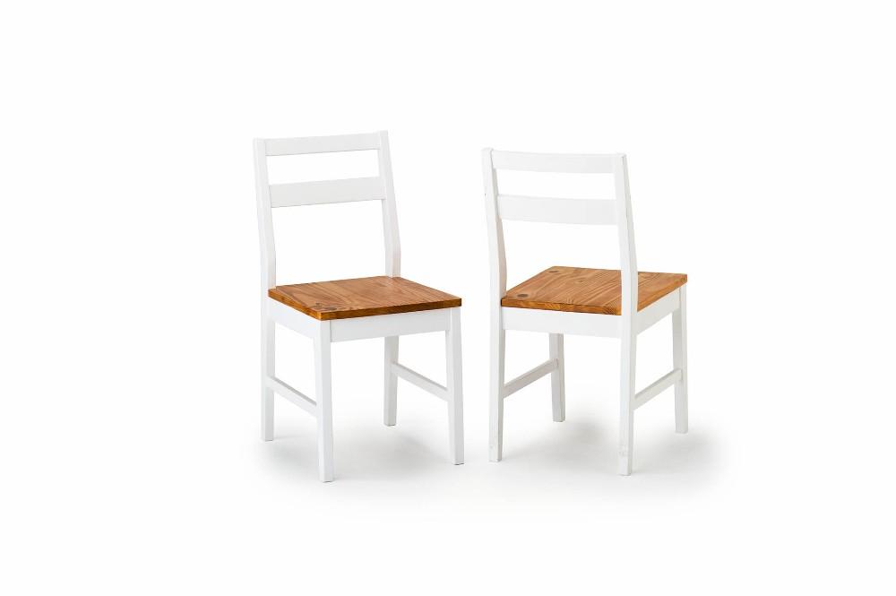カントリーダイニングチェア 2脚組 2脚セット いす 椅子 チェアー 食卓椅子 ダイニングチェアー 木製 モダン 北欧 フレンチ