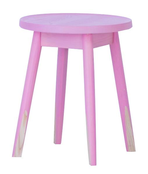 送料無料 スツール ピンク 1脚 腰掛け いす 椅子 ローチェアー 玄関 寝室 リビング キッチン コンパクト おしゃれ カラフル モダン 北欧 ミッドセンチュリー