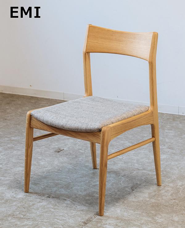 送料無料 チェアー NA ダイニングチェアー 食卓椅子 ナチュラル イス 椅子 リビング 一人掛け 1人用 木製 ファブリック おしゃれ 北欧 モダン