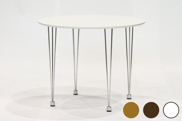 送料無料 ダイニングテーブル 単品 シンプル ウォールナット 丸 2人掛け 2人用 幅75cm 北欧風 おしゃれ カフェ リビング ダイニング 食卓テーブル 机 作業台 コーヒーテーブル