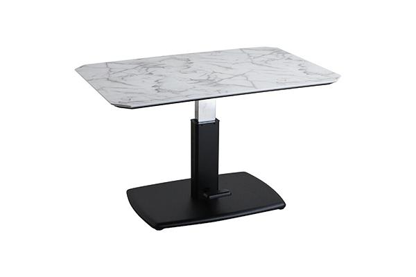 ダイニングテーブル単品 4人掛け 4人用 机 食卓テーブル ダイニング昇降テーブル 幅120cm リビングテーブル 作業台 リフトテーブル 高さ調節 昇降 センターテーブル ローテーブル おしゃれ ミッドセンチュリー 高級感