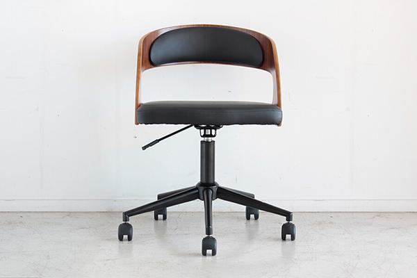 オフィスチェア ブラウン チェアー デスク用チェア いす 椅子 キャスター ワークチェアー パソコンチェア デスクチェア PCチェア OAチェア 学習椅子 いす 椅子 おしゃれ 大人シック 北欧 モダン ミッドセンチュリー レトロ 高級感