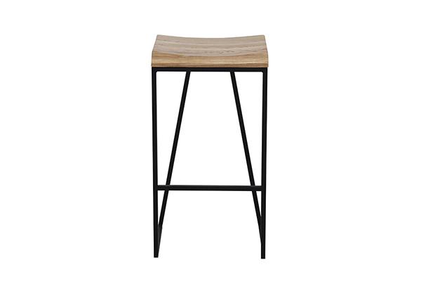 バースツール アッシュ無垢 スチール脚 カウンターチェアー ハイチェアー 椅子 イス いす 食卓チェアー カフェ バー 北欧 西海岸 ミッドセンチュリー レトロ モダン おしゃれ