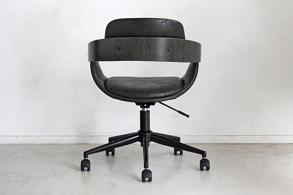 オフィスチェア 合成皮革 チェアー デスク用チェア いす 椅子 コンパクト キャスター ワークチェアー パソコンチェア デスクチェア PCチェア OAチェア 学習椅子 いす 椅子 おしゃれ インダストリアル 西海岸 ブルックリン 男前インテリア おしゃれ