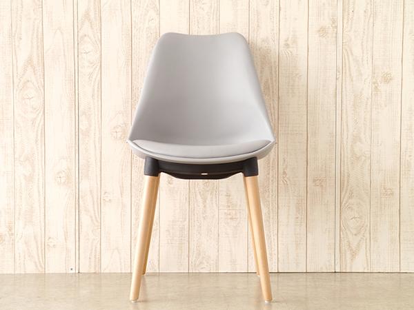 ダイニングチェア 食卓椅子 イス いす おしゃれ 1人用 1人掛け チェア マルコ グレー カフェ リビング デザイン 北欧 モダン 西海岸 シンプル