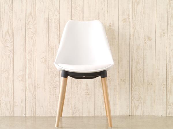 ダイニングチェア 食卓椅子 イス いす おしゃれ 1人用 1人掛け チェア マルコ ホワイト カフェ リビング デザイン 北欧 モダン 西海岸 シンプル