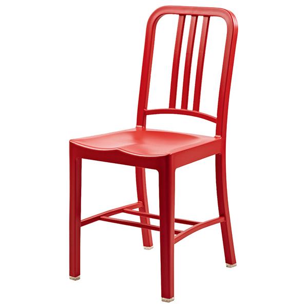 おしゃれ 椅子 カフェチェア 単品 レッド ガーデンチェア 野外 ダイニングチェア リビング キッチン カフェ イス いす ブルックリン インダストリアル 西海岸 男前インテリア