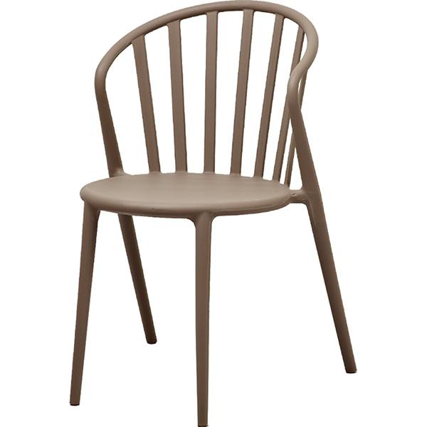おしゃれ カフェチェア 2脚セット マイルドグレイ ガーデンチェア 椅子 スタッキング 店舗用イス 野外 ダイニングチェア リビング キッチン カフェ イス いす ブルックリン インダストリアル 西海岸 男前インテリア