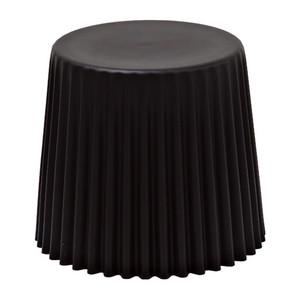 サイドテーブル 単品 PPマルチ ブラック スツールテーブル カフェテーブル 店舗用イス 背もたれ無 PP樹脂 インダストリアル ブルックリン 西海岸 男前インテリア おしゃれ