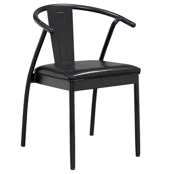 カフェチェア 2脚セット スタッキング レザー ダイニングチェアー スチール リビング キッチン 腰掛け カフェ 椅子 いす 食卓椅子 ブルックリン インダストリアル 西海岸 男前インテリア おしゃれ